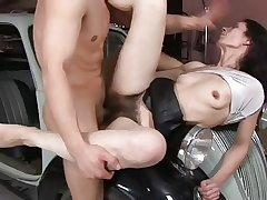 Fuck Very Hairy Pussy & Cream Pie 3