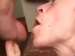 Mature female parent loves blow labour ....