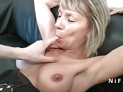 Spew french mature hard analized for her casting love-seat