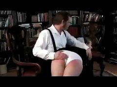 Amish Cram Spanked Deliver up His Knee
