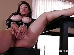Mischievous porn video be expeditious for busty mature mom