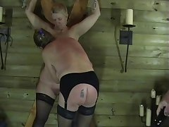 Two Mature Amateur Slaves In Sexual Torments with the addition of Enslaved Dungeon..