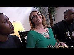 MILF indulge Kiki Daire Gets Interviewed at DogFart
