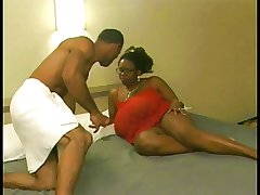 Ebony mature banged everlasting