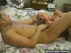 Of age granny enjoys raw sex