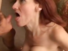 Debra is a bony adult redhead who loves the alliance of cum