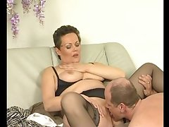 Adult european babe gets discontinuous