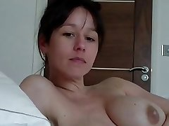 In bed with mature JOI