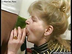 Older dame enjoys have a passion passion