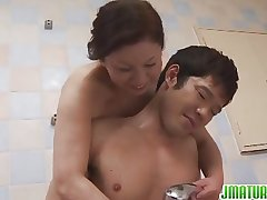 Titillating Chizuru Japanese mature sex
