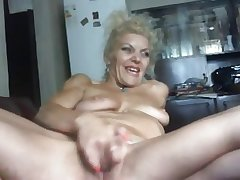 Hot Blond Mature Bates