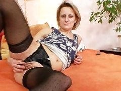 Abnormal mature mom first time masturbation video