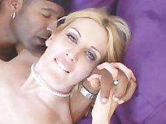 Lass In Erotic Unmentionables Fucks Menacing Cock