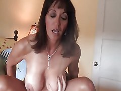 Correct grown-up milf gets crampied