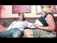 Sensual Tit Granny From SEXDATEMILF.COM fucks Big Dick Grandpa with regard to Tinge