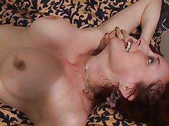 mature tow-headed milf fucked hard together with gets facial