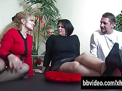 Big breasted matured BBW german 'Not Wanted on Voyage' riding cock
