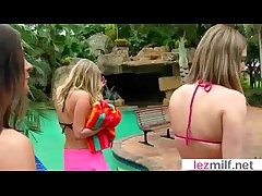 Lesbo Milfs Please With Sexual congress Dildo Toys mov-24