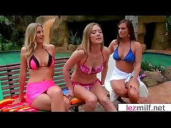 Hot Lezbo Milfs Lick And Hug Many times Other clip-18