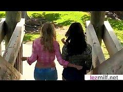 Milf Lesbians (Brianna Ray & Emily Briar) In Sex Scene clip-08