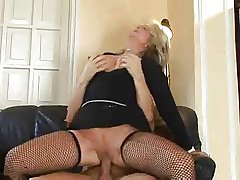 Hot Blonde Euro Grown-up Banging Up Upstairs maid