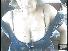 Horny matured flashing compilation - Coroa bunda gostosa