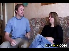 Amateur Mother On Chum around with annoy Casting Love-seat
