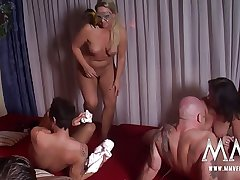 MMV FILMS Hot Second-rate German Adult Swinger Line