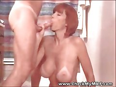 Bust My MILF - suped hit busty fit together fraying cum