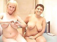 Mature Lesbian Cam Latitudinarian Strapon Sex