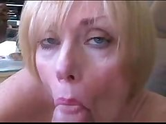 Full-grown wife and nipper roleplay fuck and facial