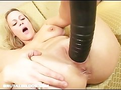 Be in charge milf stretched wits brutal dildo
