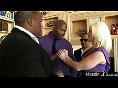 Mature Lady Obtain Mainly Famous Black Dick In Making love Enmired clip-11