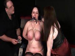 Adult Lesbian Slavegirls Bizarre Chastisement